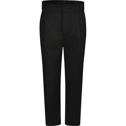 Half Elastic, Hook & Bar Fasten School Trousers