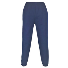 Load image into Gallery viewer, Kids navy school PE jogging bottoms joggers