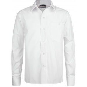 White Primary School Long Sleeved Shirt