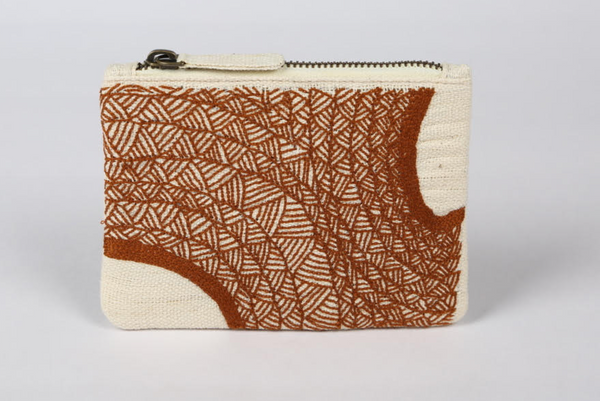 Arch Patterned Money Pouch