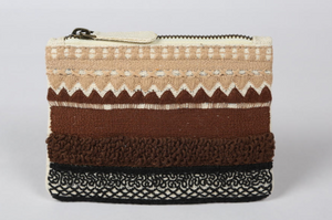 Lines Patterned Money Pouch
