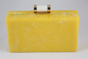 Acrylic Yellow Clutch