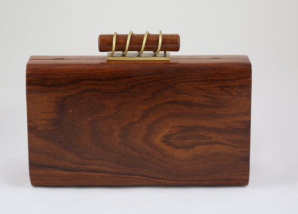 Sheesham Wood Clutch