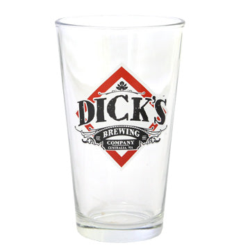 Dick's Beer Pint Glass