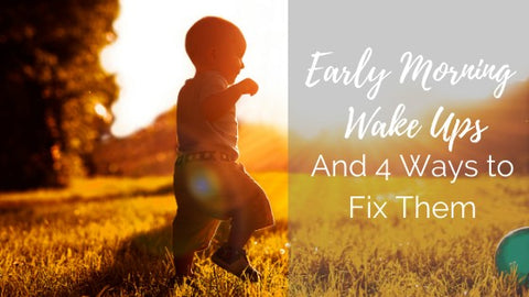 4 ways to fix early morning wake-ups