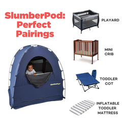 SlumberPod perfect pairing - items that will fit under the slumberPod
