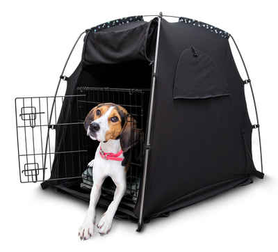SlumberPod Pet — Portable Pet Crate or Bed Cover / Privacy Pod