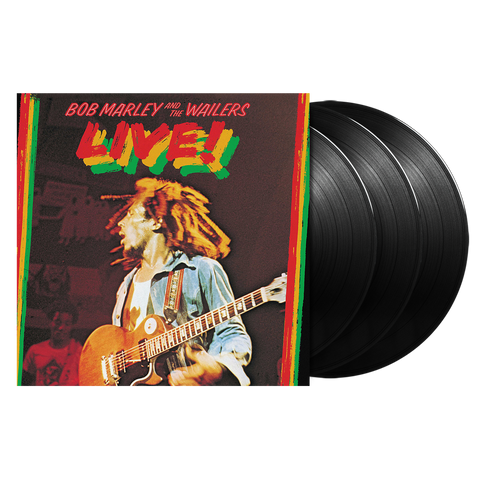 Bob Marley & The Wailers, Live! (Deluxe Edition) (3LP)
