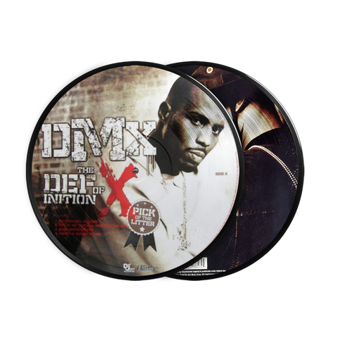 DMX, The Definition of X: Pick Of The Litter (2LP Picture Disc)