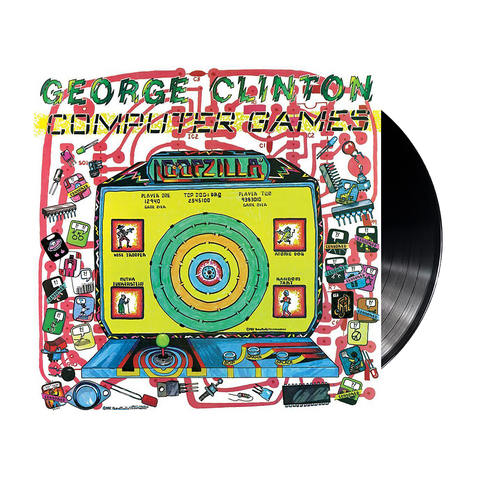 George Clinton, Computer Games (LP, 3D Lenticular Cover)