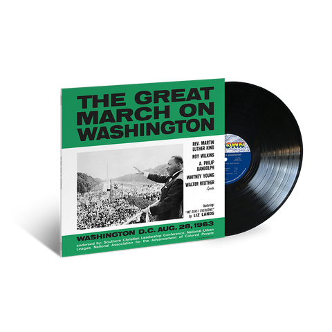 Various Artists, The Great March on Washington (LP)