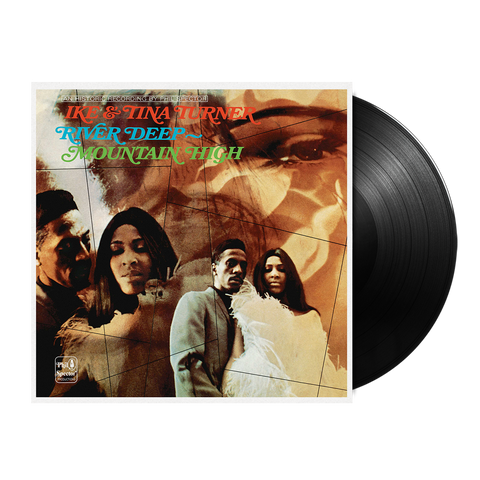 Ike & Tina Turner, River Deep - Mountain High (LP)