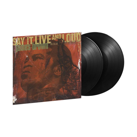 James Brown, Say It Live And Loud: Live In Dallas 08.26.68 (LP)