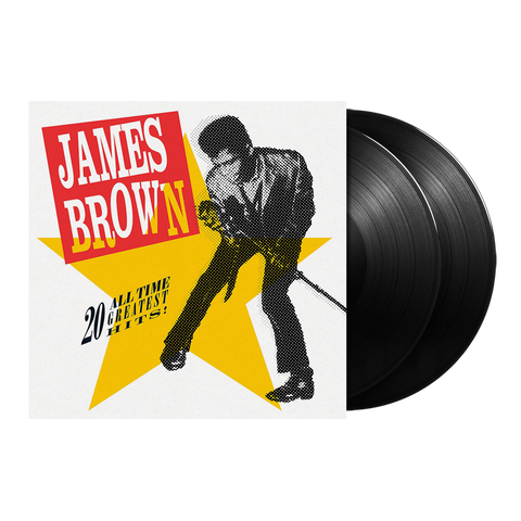James Brown, 20 All-Time Greatest Hits! (2LP)