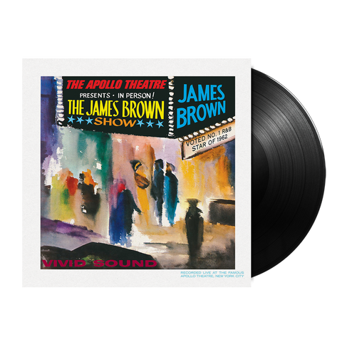James Brown, Live At The Apollo (LP)