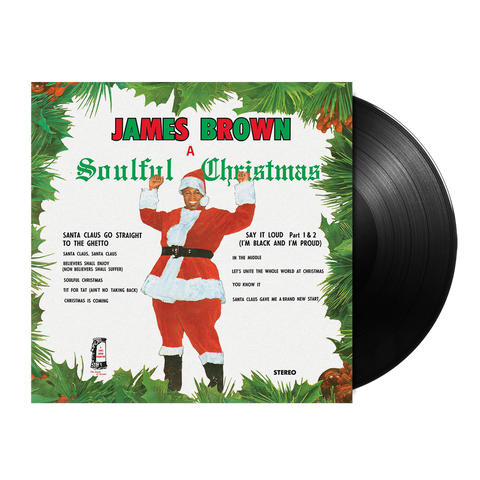 James Brown, A Soulful Christmas (LP)