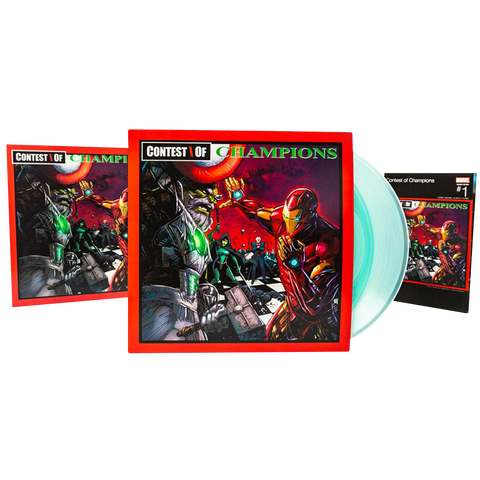 GZA, Liquid Swords (Deluxe Marvel Edition 2LP)