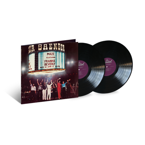 Maze Featuring Frankie Beverly, Live In New Orleans (2LP)