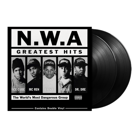 N.W.A., N.W.A. Greatest Hits 2LP