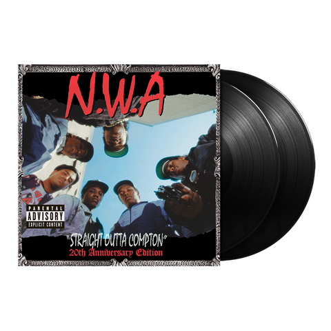 N.W.A., Straight Outta Compton (20th Anniversary Edition) 2LP
