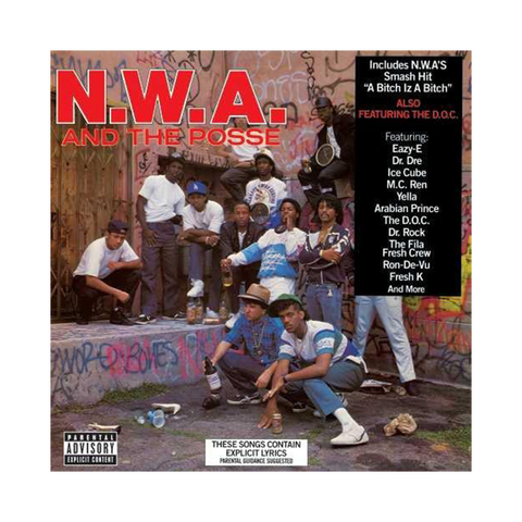 N.W.A., N.W.A. and the Posse (LP, 3D Lenticular Cover)
