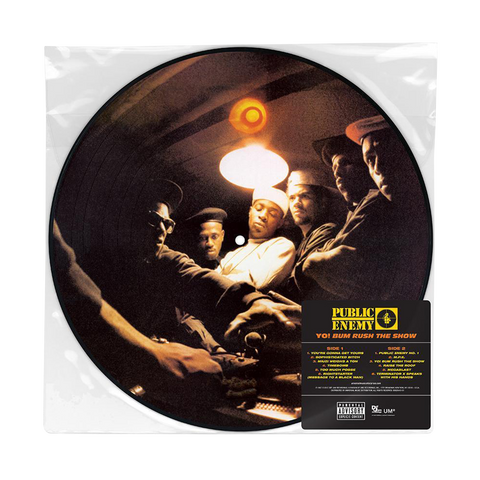 Public Enemy, Yo! Bum Rush The Show (LP Picture Disc)