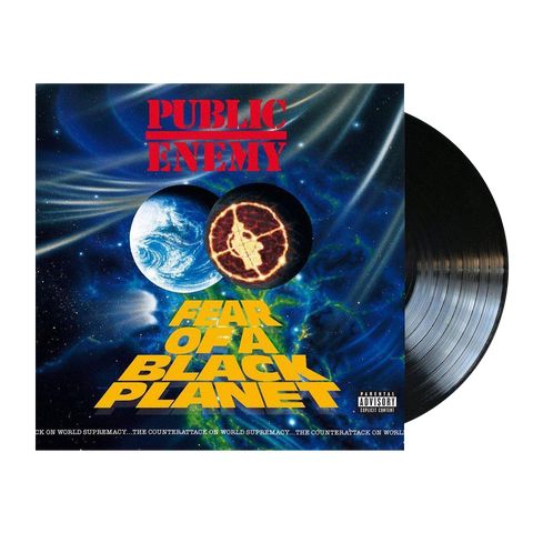 Public Enemy, Fear Of A Black Planet (LP)