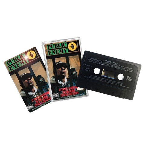 Public Enemy, It Takes A Nation Of Millions To Hold Us Back (Cassette, 3D Lenticular Cover)