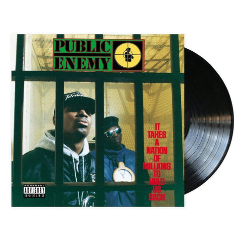 Public Enemy, It Takes A Nation Of Millions To Hold Us Back (LP, 3D Lenticular Cover)