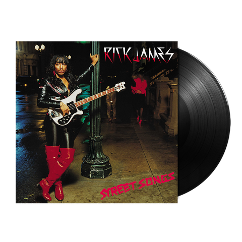 Rick James, Street Songs (Back to Black International Version) LP