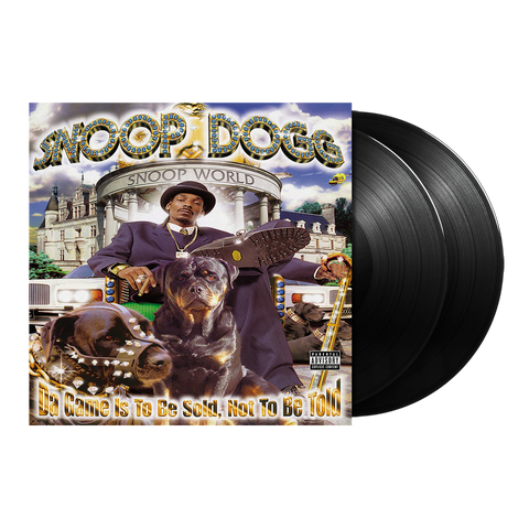 Snoop Dogg, Da Game Is To Be Sold, Not To Be Told 2LP