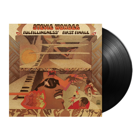 Stevie Wonder, Fulfillingness' First Finale (LP)