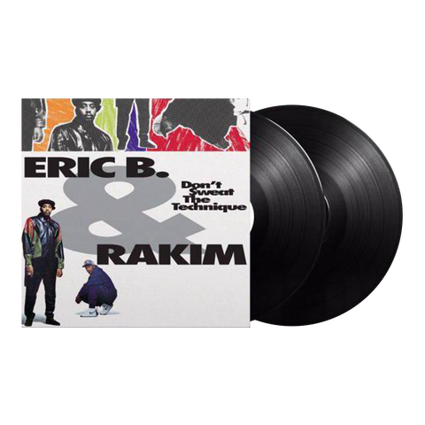 Eric B. & Rakim, Don't Sweat The Technique (2LP)