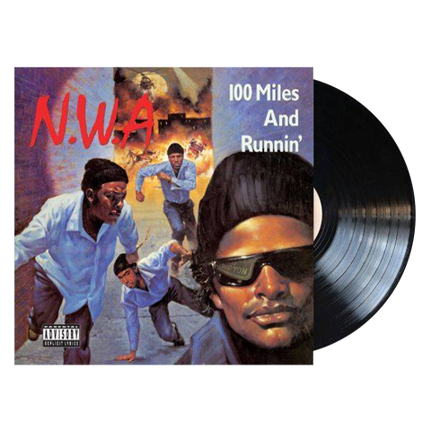 N.W.A, 100 Miles and Runnin' (LP, 3D Lenticular Cover)