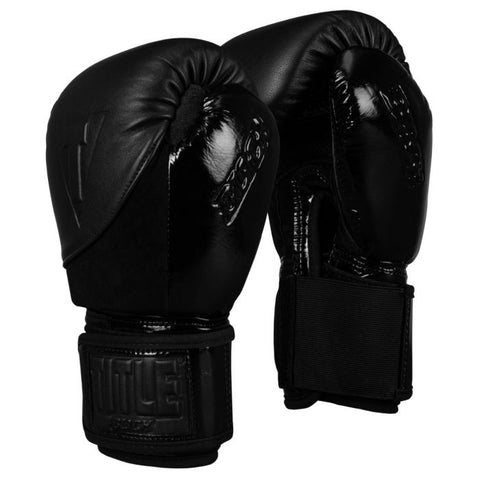TITLE BLACK Blitz Fit Boxing Gloves