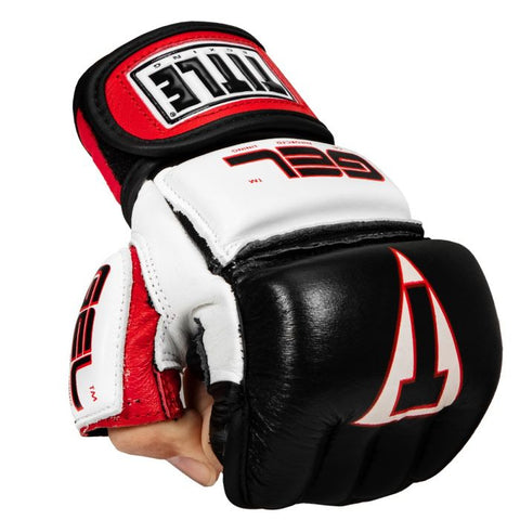 TITLE GEL Incensed Wristwrap Heavy Bag Gloves