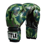 TITLE Infused Foam Camo Bag Gloves
