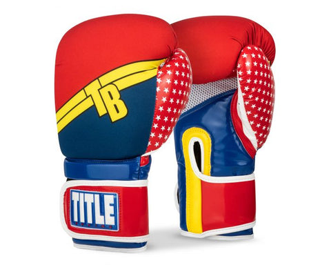 TITLE Infused Foam Justice Boxing Gloves