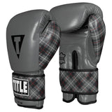 TITLE Boxing Nostalgic Training Gloves (Grey/Plaid)