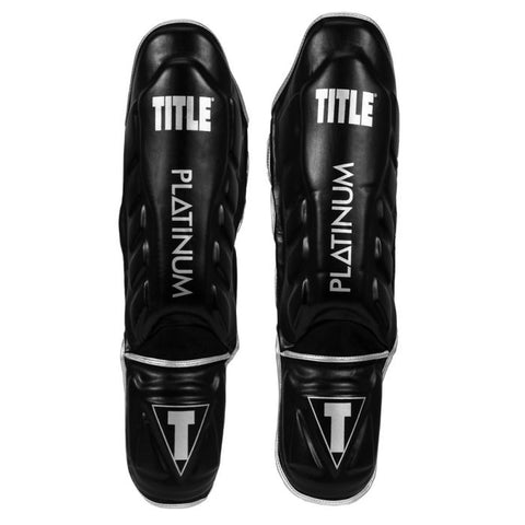 TITLE Platinum Prevail Gel Shin & Instep Guards