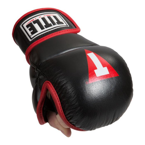 TITLE MMA PERFORMANCE SAFE SPAR GLOVES