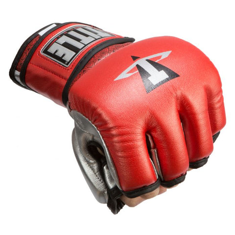 TITLE MMA Menace Metallic Training Gloves