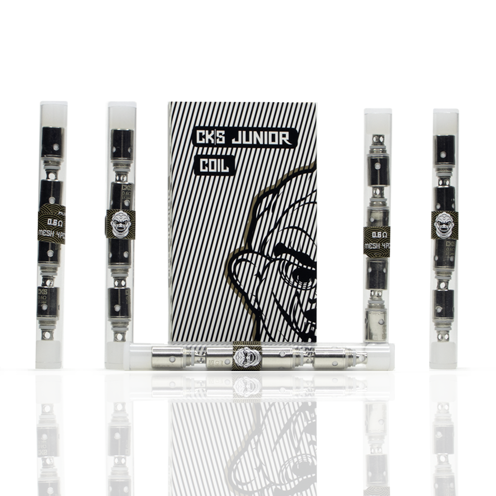 CKS JUNIOR COILS - .6Ω, 1.0Ω & 1.5Ω (4 pcs/Tube)
