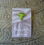 Lord of the Rings, The Fellowship of the Ring inspired fan pin