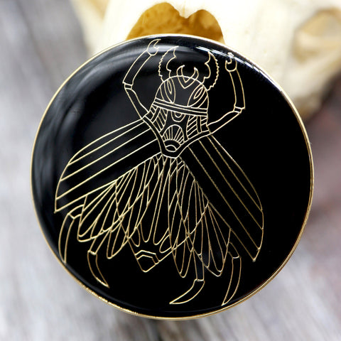 Mechanical Spy Fly, His Dark Materials inspired fan Enamel Pin