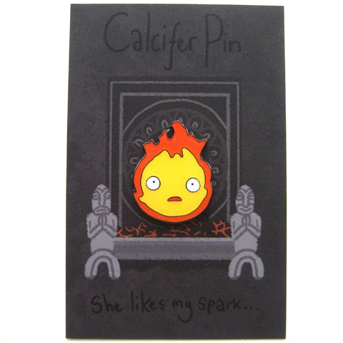 Calcifer inspired fan Pin