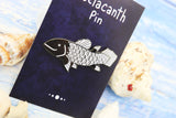 Coelacanth 'Living Fossil' Enamel Pin