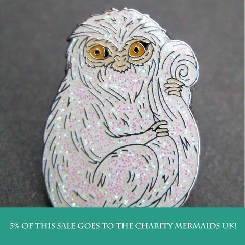 Demiguise inspired fan Enamel Pin