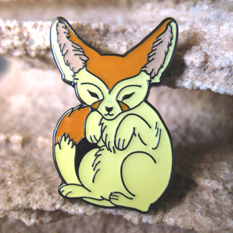 Fennec Fox Enamel Pin