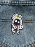 Soot Sprite inspired fan Iron on Patch